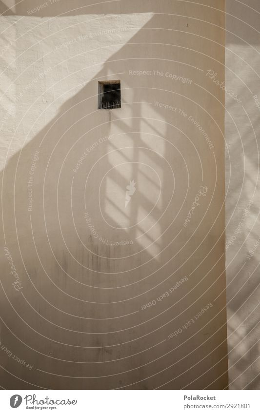 #A# Schattenloch Kunst Kunstwerk ästhetisch Fenster Fensterblick Schattenspiel Fassade Bautzen Farbfoto Gedeckte Farben Außenaufnahme Detailaufnahme Experiment