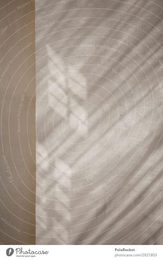#A# Schattenkante Kunst ästhetisch Fassade Schattenspiel Fenster Bautzen Lichtspiel Farbfoto Gedeckte Farben Außenaufnahme Detailaufnahme Experiment abstrakt