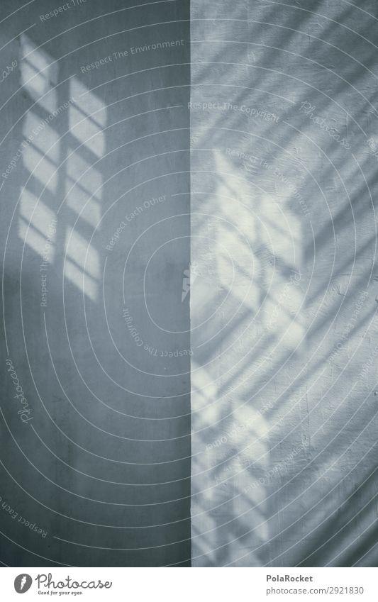 #A# GRAY Kunst Kunstwerk ästhetisch grau Beton Mauer Schatten Schnee Bauwerk Bautzen Gedeckte Farben Außenaufnahme Detailaufnahme Experiment abstrakt