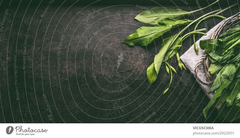 Frische Bärlauch Lebensmittel Kräuter & Gewürze Ernährung Bioprodukte Vegetarische Ernährung Diät kaufen Stil Design Gesundheit Alternativmedizin