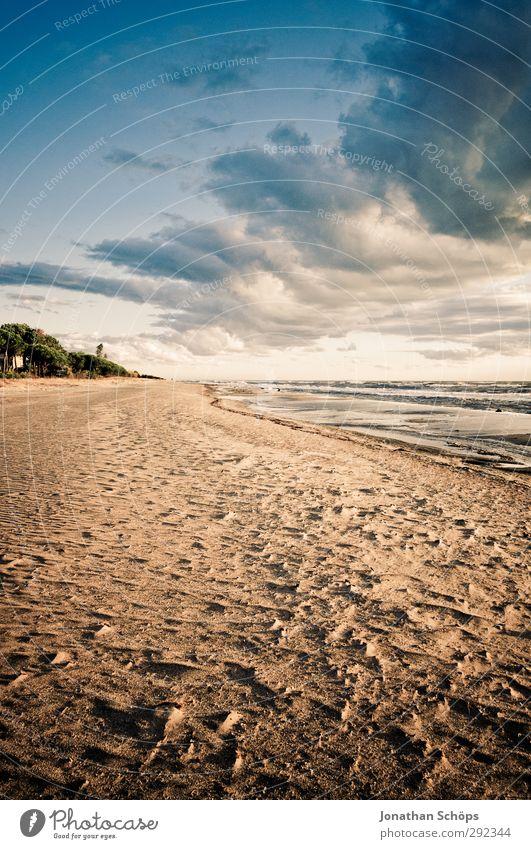 Korsika VII Ferien & Urlaub & Reisen Freiheit Sommer Sommerurlaub Sonnenbad Strand Meer Insel Wellen Umwelt Natur Landschaft Lebensfreude Sandstrand