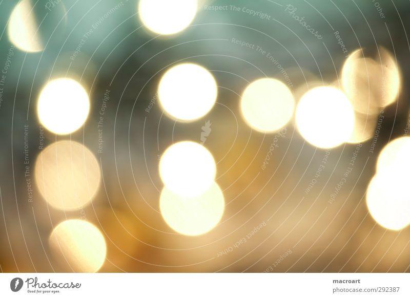 bokeh effekt Unschärfe Reaktionen u. Effekte Licht Beleuchtung leuchten glänzend Hintergrundbild Design abstrakt Muster gelb