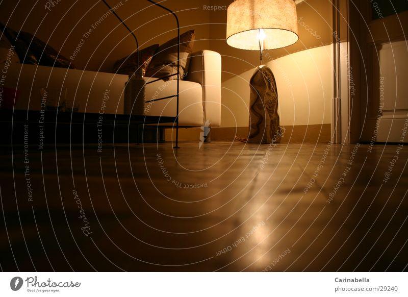 Wohnstimmung Lampe Raum Wohnung Sofa Fototechnik