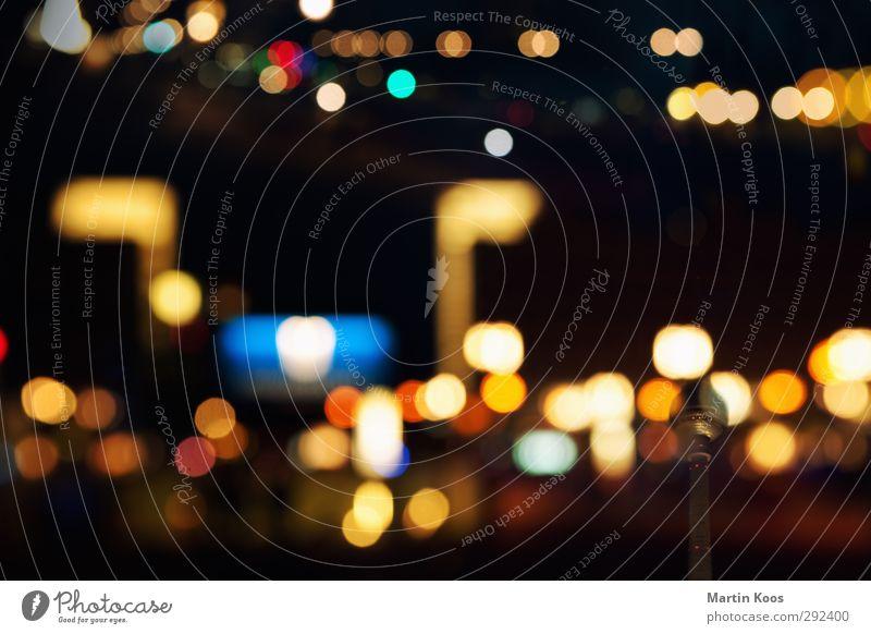 Berlin Sinfonie Stadt dunkel Horizont außergewöhnlich groß Verkehr Energie modern Tourismus ästhetisch Netzwerk Idee Skyline Wahrzeichen Stadtzentrum