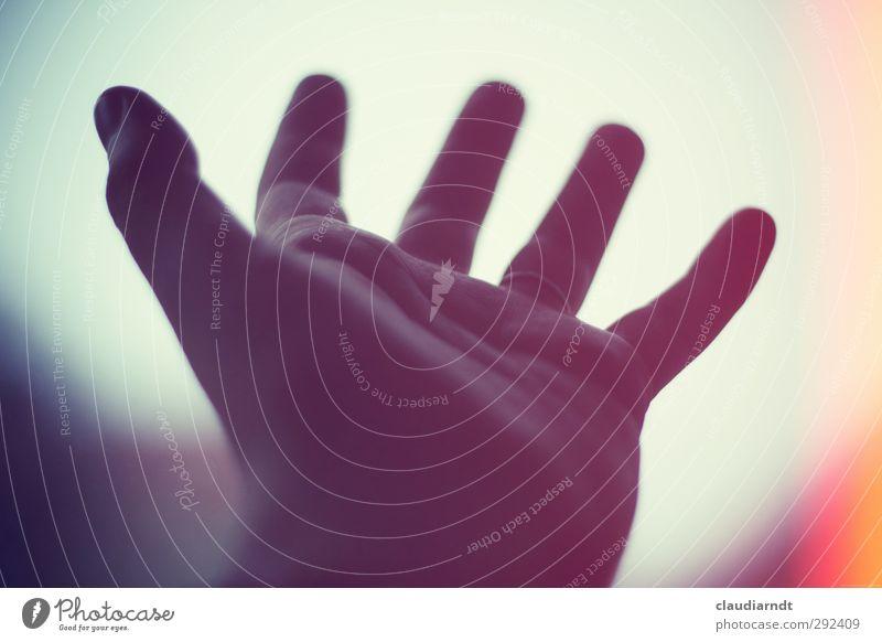 Reich mir die Hand, mein Leben feminin Finger 1 Mensch Ring Zeichen retro Vorfreude Vertrauen Sympathie Freundschaft Liebe Hilfsbereitschaft Hoffnung Glaube