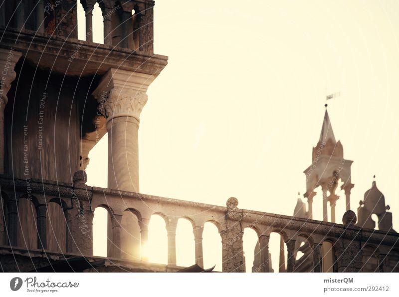 Shine on. Kunst Fassade Gold ästhetisch Turm Italien Geländer fantastisch Bauwerk Venedig Veneto San Marco Basilica