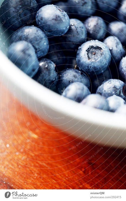 Appetit. Kunst ästhetisch Blaubeeren Schalen & Schüsseln Dessert Frühstück lecker Appetit & Hunger Stadt Essen Lebensmittel Gesundheit Gesunde Ernährung Beeren