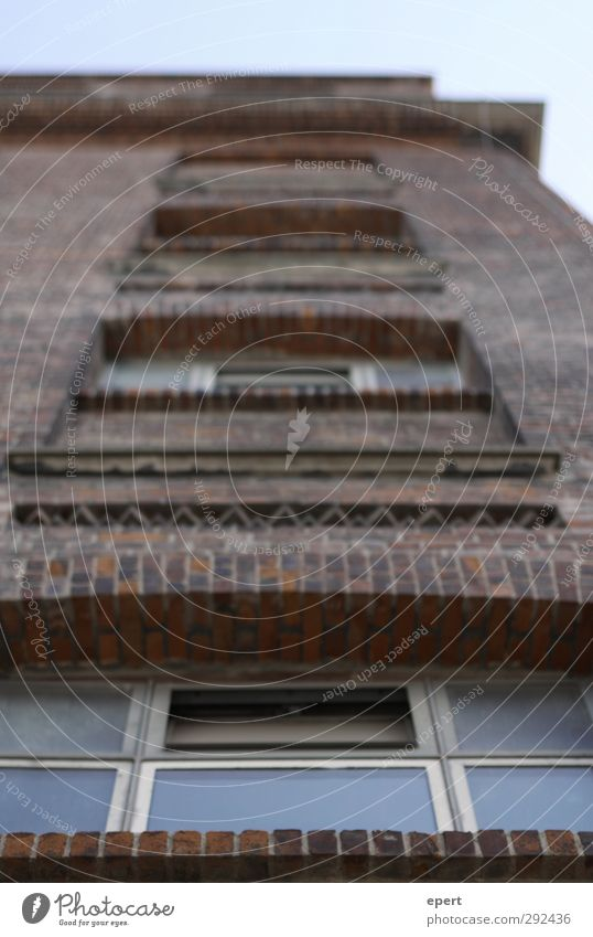 Backstein alt Stadt Wand Architektur Mauer Stein Fassade Glas hoch Wandel & Veränderung fest Fabrik