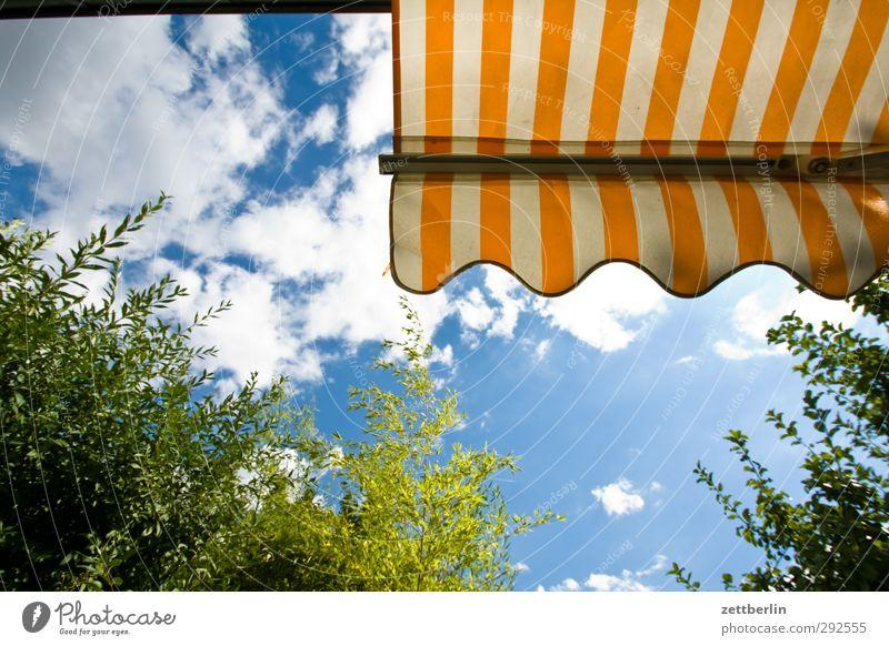 Markise Freude Wellness harmonisch Wohlgefühl Zufriedenheit Freizeit & Hobby Ferien & Urlaub & Reisen Tourismus Ausflug Freiheit Sommer Sonne Garten Himmel