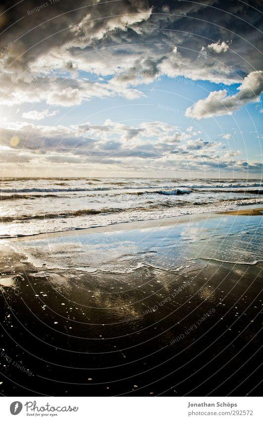 Korsika IX Ferien & Urlaub & Reisen Freiheit Sommer Sommerurlaub Sonnenbad Strand Meer Insel Wellen Umwelt Natur Landschaft Lebensfreude Sandstrand