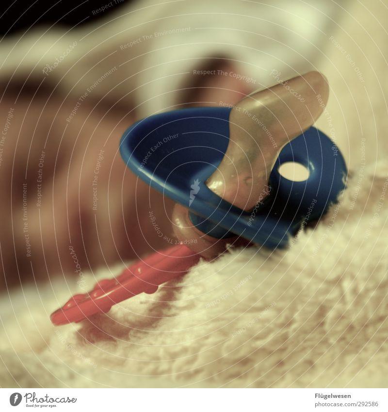 Schlaf gut Kleiner! Mensch Kind schön Spielen Junge Gesundheit Baby Lifestyle schlafen Kleinkind Körperpflege Kindergarten atmen Kindererziehung Schnuller