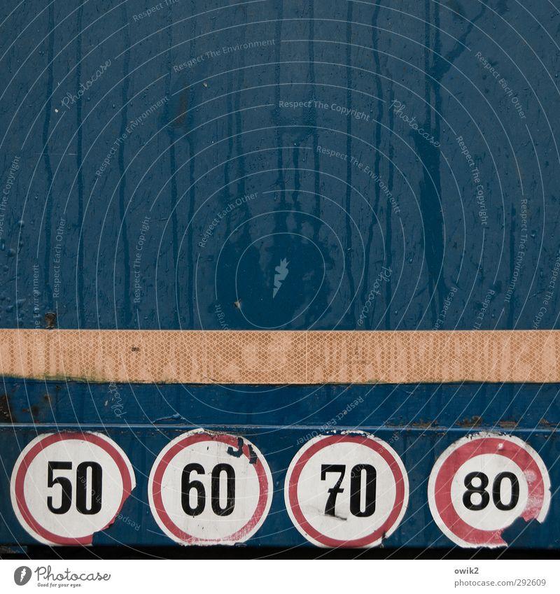 Speedy Gonzales Blech Metall Zeichen Ziffern & Zahlen Schilder & Markierungen Geschwindigkeitsbegrenzung einfach nass rund blau rot schwarz weiß Verantwortung