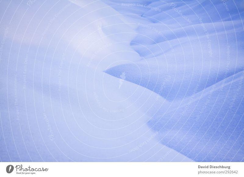 Kalte Decke Ferien & Urlaub & Reisen Winter Schnee Winterurlaub Landschaft Schönes Wetter Eis Frost Alpen Berge u. Gebirge blau weiß Dolomiten kalt Schneedecke
