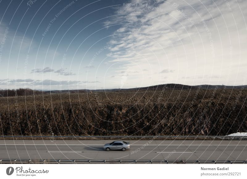 Verkehr Umwelt Himmel Öffentlicher Personennahverkehr Straßenverkehr Autobahn PKW fahren nachhaltig Ferien & Urlaub & Reisen Umweltverschmutzung Dresden