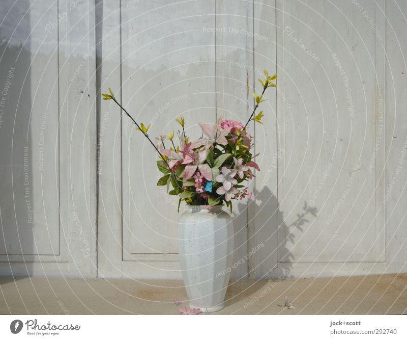 deko maximal minimal Himmel alt schön weiß Blume Wald Stil Holz Linie Lifestyle Idylle elegant Dekoration & Verzierung Glas stehen ästhetisch