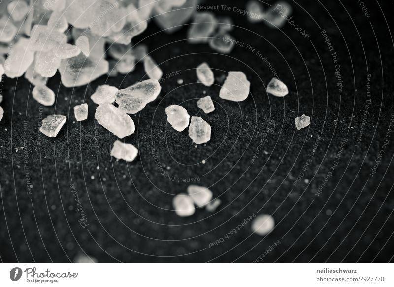 Salzkristalle Lebensmittel Kräuter & Gewürze Kochsalz Kristalle Ernährung Bioprodukte Vegetarische Ernährung Lifestyle Wellness Kur Spa authentisch natürlich