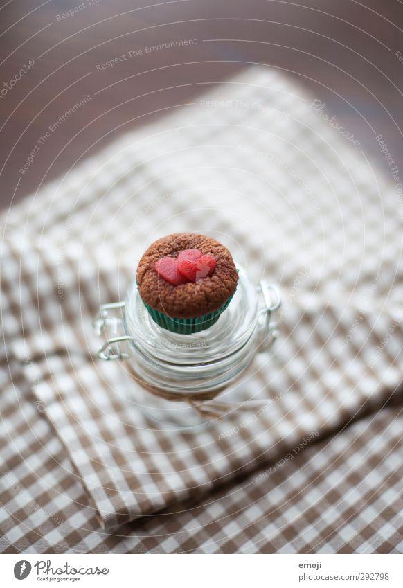 4 U Kuchen Dessert Süßwaren Ernährung Picknick Slowfood Fingerfood Einmachglas Muffin lecker süß Farbfoto Innenaufnahme Nahaufnahme Menschenleer Tag