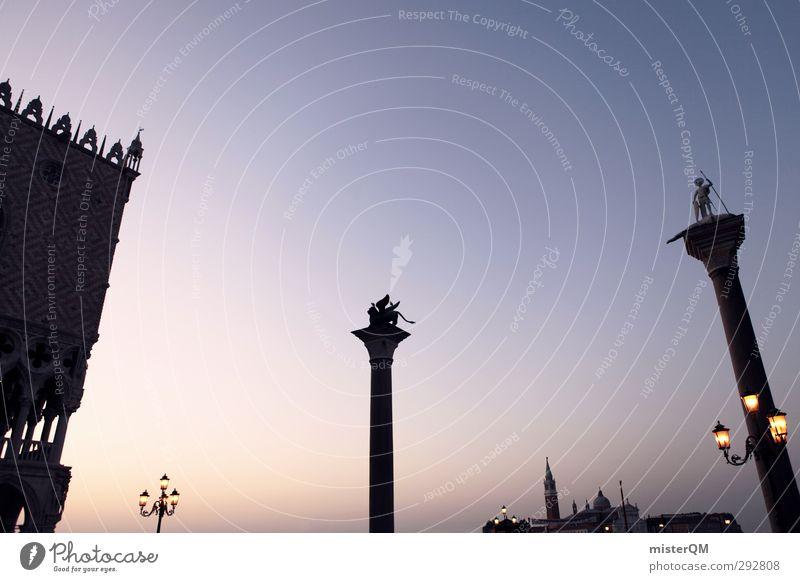 First Light. Ferien & Urlaub & Reisen Reisefotografie Kunst Tourismus ästhetisch Italien fantastisch Statue Mittelmeer Sehenswürdigkeit Venedig Veneto Städtereise San Marco Basilica