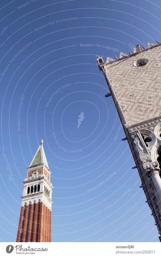 Venezianischer Himmel. Kunst ästhetisch Venedig Veneto Italien Berühmte Bauten Sehenswürdigkeit Reisefotografie Fernweh Ferien & Urlaub & Reisen Urlaubsfoto