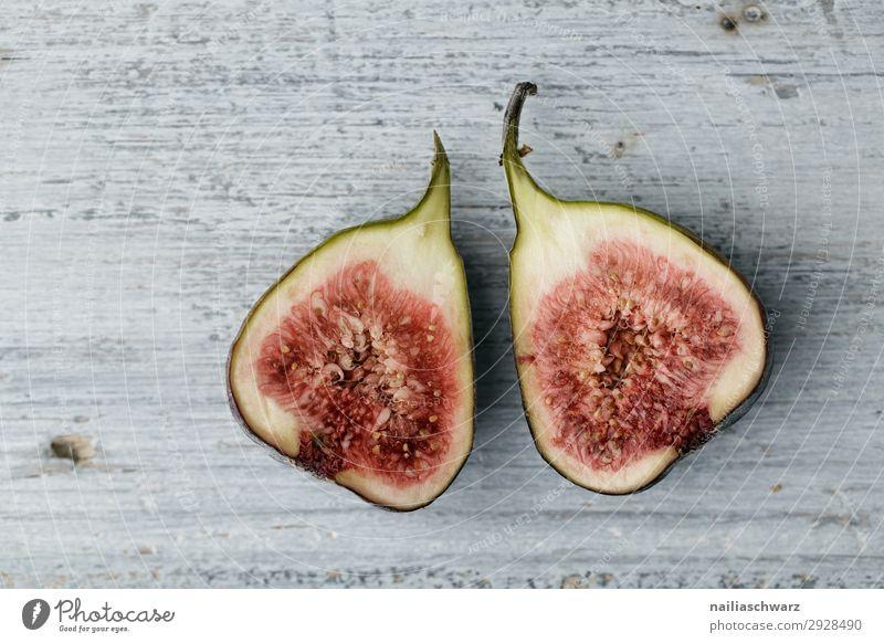 Feigen Lebensmittel Frucht Ernährung Bioprodukte Vegetarische Ernährung Lifestyle Gesunde Ernährung Holz Duft exotisch Gesundheit lecker natürlich saftig schön