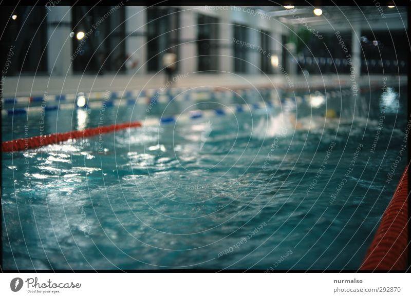 aquafitness Mensch blau Wasser Erholung Leben Sport Schwimmen & Baden Gesundheit Kunst Kraft glänzend Freizeit & Hobby Lifestyle Fitness Schwimmbad Wellness