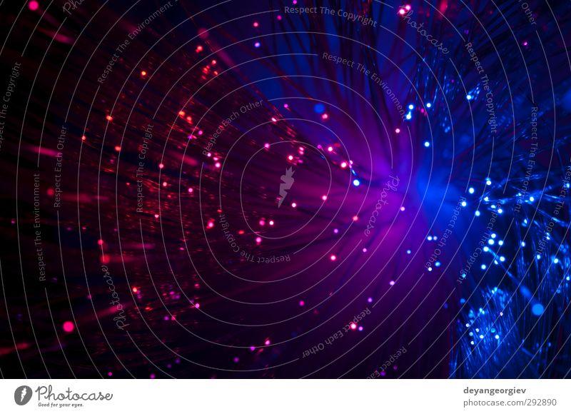 Mehrfarbige optische Fasern Wissenschaften Telekommunikation Technik & Technologie Internet Auge Verkehr Bewegung Kommunizieren Zukunft Netzwerk Sehne