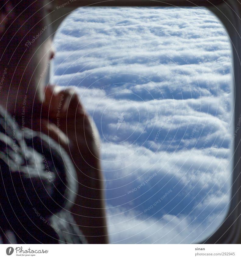 Blick in den Himmel - aber von oben! Ferien & Urlaub & Reisen Tourismus Ferne Technik & Technologie High-Tech Energiewirtschaft Erneuerbare Energie Luftverkehr
