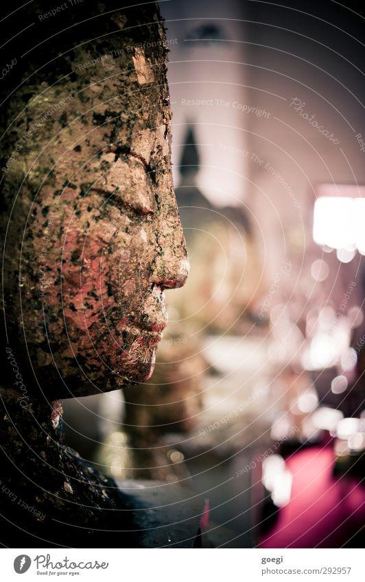 Goldjunge rot Erholung Religion & Glaube Metall außergewöhnlich gold glänzend Zufriedenheit ästhetisch Lebensfreude Statue Skulptur exotisch Kunstwerk