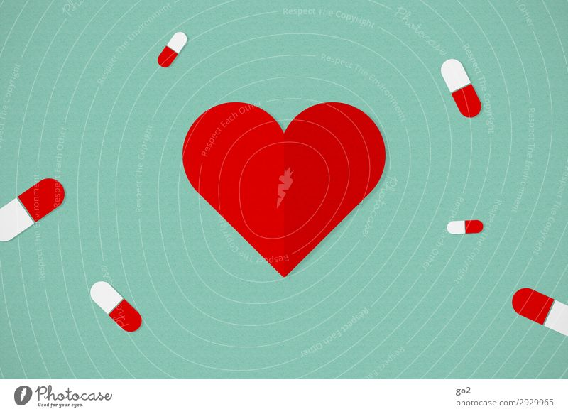 Gesundheit Gesundheitswesen Behandlung Seniorenpflege Alternativmedizin Gesunde Ernährung Krankenpflege Krankheit Medikament Zeichen Herz ästhetisch grün rot