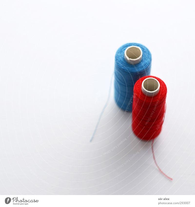 HOT LOVE | blau-rot-weiß Schneider Handwerk Nähgarn einzigartig Konkurrenz Nähen Freizeit & Hobby gestalten Mode Handarbeit 2 Kreativität Auswahl Teamwork