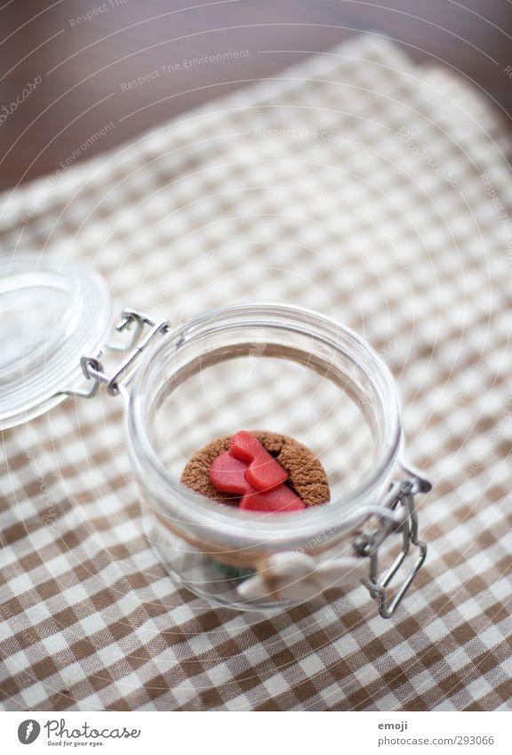 Valendönertag alleine Kuchen Dessert Süßwaren Ernährung Slowfood Fingerfood Einmachglas lecker süß Muffin Farbfoto Innenaufnahme Menschenleer Tag