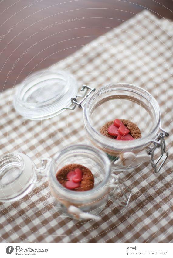 Valendonnerstag zu zweit Kuchen Dessert Süßwaren Ernährung Slowfood Fingerfood Einmachglas lecker süß Muffin Farbfoto Innenaufnahme Menschenleer Tag