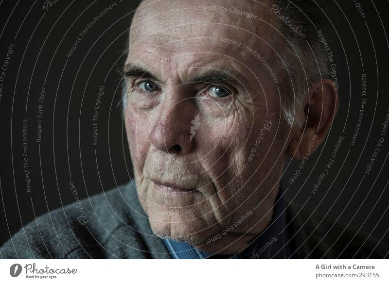 3 generations - 78 years old Mensch maskulin Männlicher Senior Mann Vater Erwachsene Großvater Leben 1 60 und älter alt Blick Verschmitzt Gedeckte Farben