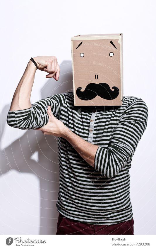 KARTOON - HAROLD Mensch Mann Jugendliche Erwachsene Junger Mann 18-30 Jahre Gesundheit Mode außergewöhnlich maskulin groß Fröhlichkeit verrückt ästhetisch