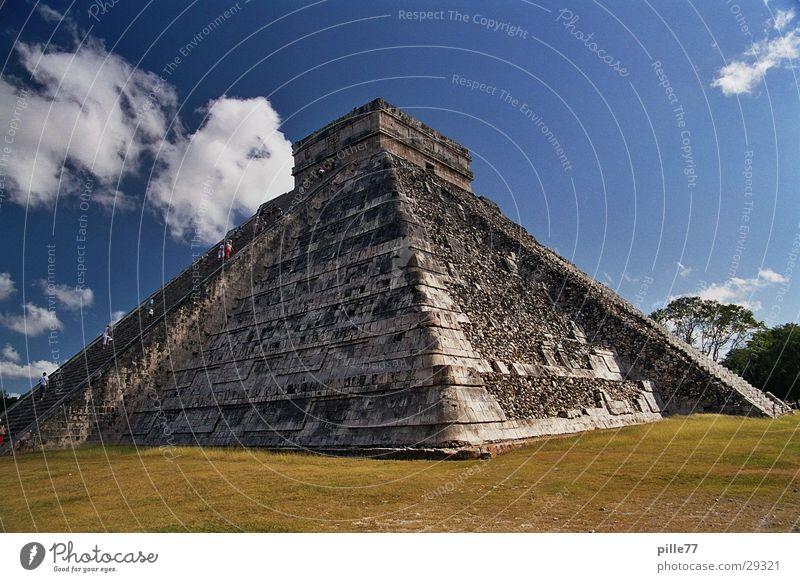 Chichén Itzá Yucatan Mexiko Tempel Pyramide Mittelamerika Maya