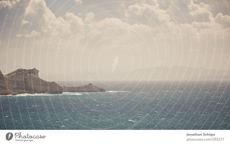 Korsika XXVI Ferien & Urlaub & Reisen Freiheit Sommer Sommerurlaub Meer Insel Wellen Umwelt Natur Landschaft Lebensfreude Schwimmen & Baden Mittelmeer