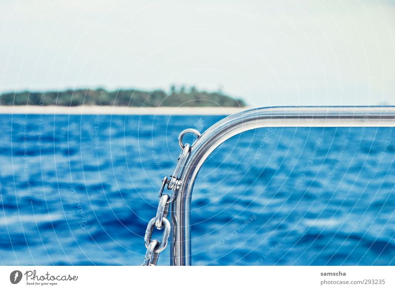 Südseefeeling Ferien & Urlaub & Reisen Tourismus Ausflug Abenteuer Ferne Freiheit Kreuzfahrt Sommer Strand Meer Insel Wellen Umwelt Natur Landschaft Wasser