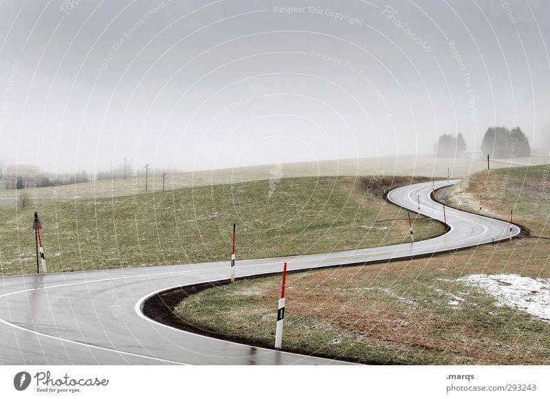 S Ausflug Natur Landschaft Himmel Frühling Herbst Wiese Verkehr Verkehrswege Güterverkehr & Logistik Straßenverkehr Wege & Pfade fahren Zukunft Richtung