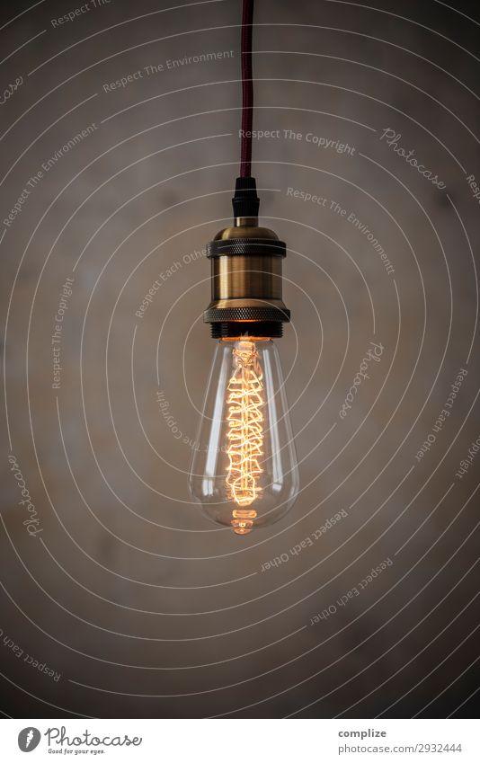 Vintage Edison Glühbirne Lifestyle Häusliches Leben Wohnung Renovieren Umzug (Wohnungswechsel) einrichten Innenarchitektur Dekoration & Verzierung Lampe Raum