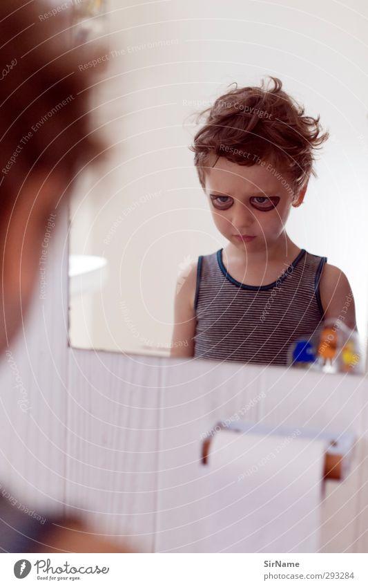 213 [den Monster-Blick ueben] Mensch Kind Spielen Junge Party träumen natürlich Kindheit Freizeit & Hobby Abenteuer niedlich Coolness einzigartig Kreativität