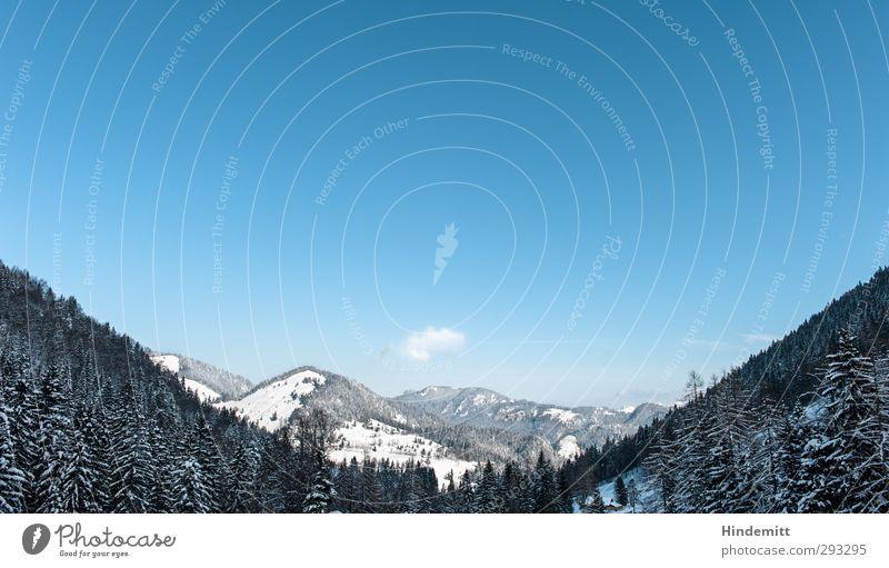 \m/ Erholung ruhig Ferien & Urlaub & Reisen Tourismus Ausflug Winter Schnee Winterurlaub Berge u. Gebirge wandern Umwelt Natur Landschaft Himmel