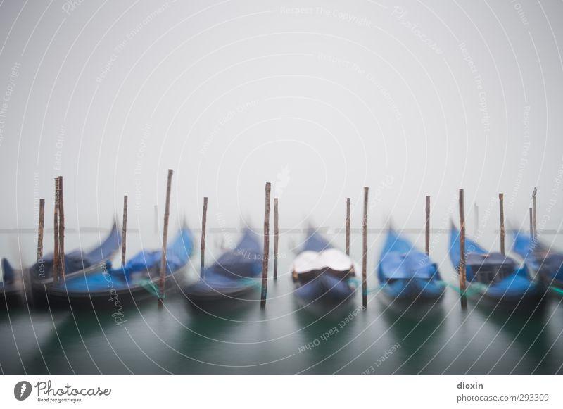 Im Nebel -1- Ferien & Urlaub & Reisen Tourismus Sightseeing Städtereise Wasser Wetter schlechtes Wetter Venedig Italien Stadt Hafenstadt Menschenleer