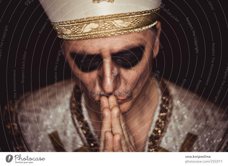 [1000] urbi et krempli Mensch Mann alt ruhig Erwachsene dunkel Liebe Senior Tod Gefühle Religion & Glaube Denken maskulin Warmherzigkeit einzigartig Bart
