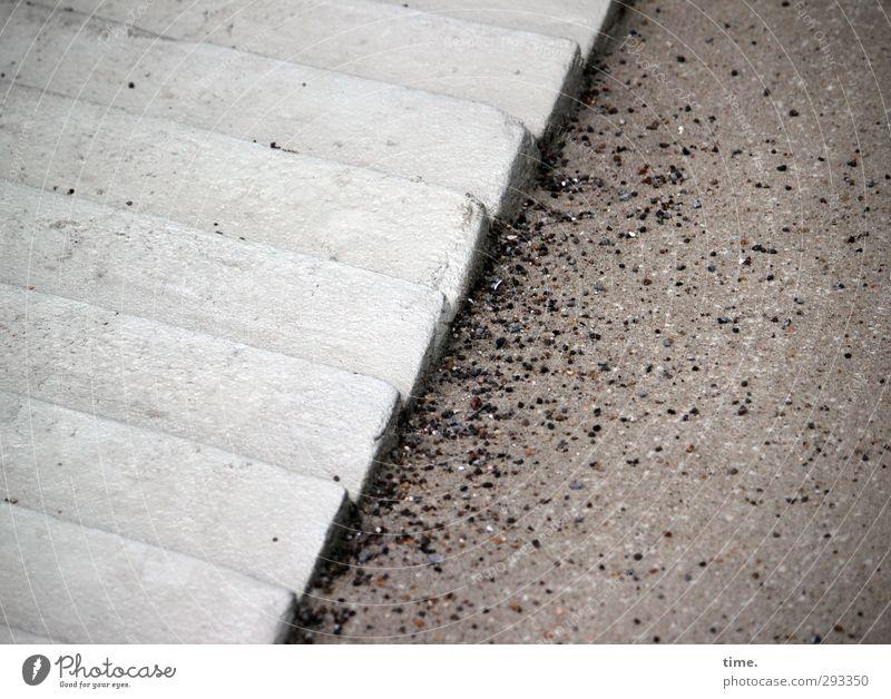 =/:: Winter Verkehrswege Wege & Pfade Autobahnauffahrt Beton Streugut Treppenabsatz eckig fest ästhetisch Zufriedenheit Kommunizieren Kontrolle Ordnung