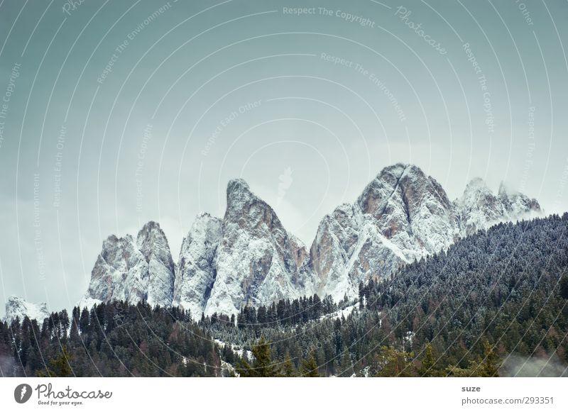 Die Geisler Freizeit & Hobby Ferien & Urlaub & Reisen Berge u. Gebirge Umwelt Natur Landschaft Urelemente Luft Himmel Klima Wald Alpen Gipfel