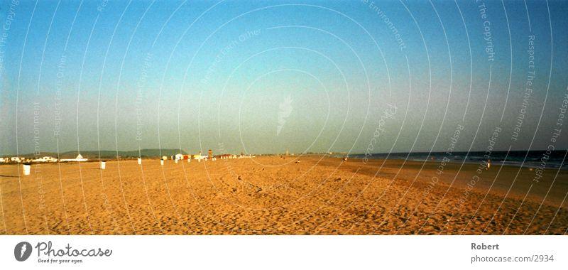 Strandtag Sonne Meer Spanien