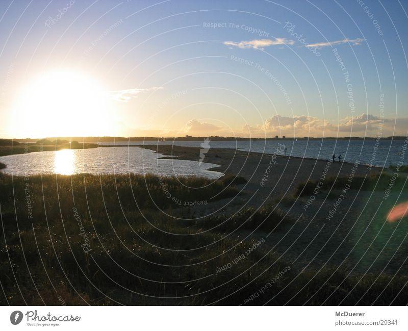 Sonnenaufgang am Meer Sonnenuntergang Nordsee Ostsee