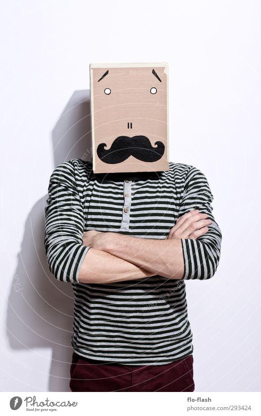 KARTOON - HAROLD II Mensch Kind Mann Jugendliche Erwachsene Junger Mann 18-30 Jahre Mode außergewöhnlich maskulin stehen 13-18 Jahre Coolness Baustelle retro Bart