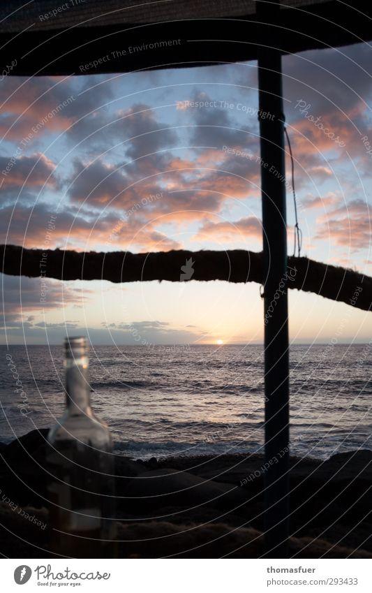2500 Meilen bis Barbados Himmel Ferien & Urlaub & Reisen Wasser schön Sommer Sonne Meer Landschaft Wolken Strand ruhig Ferne Freiheit Luft Horizont Wellen