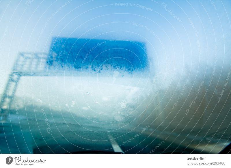 Wann sind wir daha? Ferien & Urlaub & Reisen Winter Ferne kalt Schnee Straße Freiheit Eis Wetter Klima Freizeit & Hobby Nebel Schilder & Markierungen Verkehr